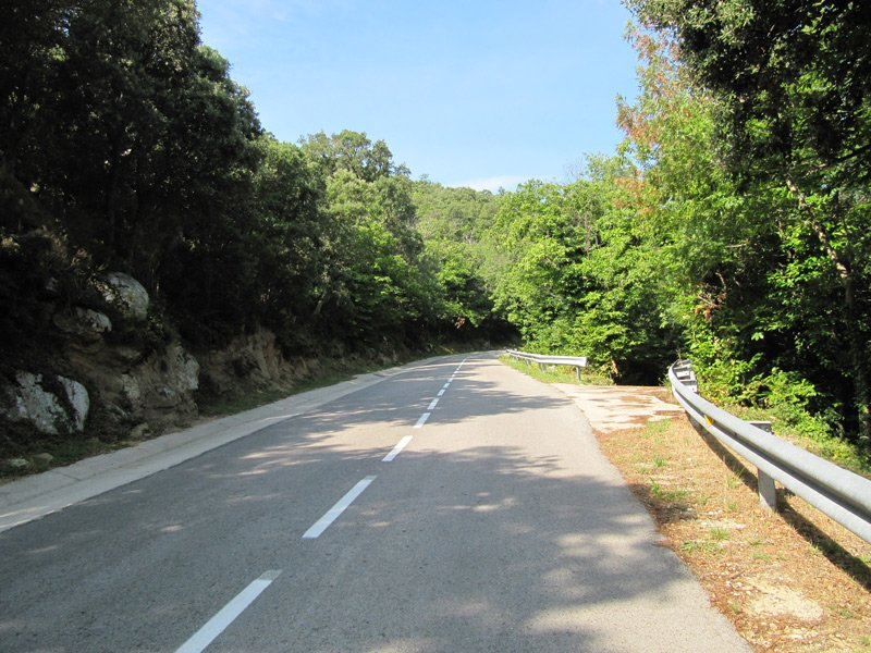 On the road, GR 11, jour #4