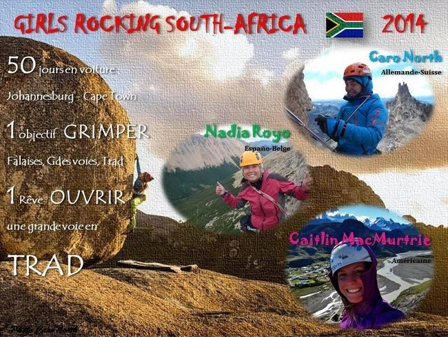 """Girls Rocking"" pour un Road Trip Escalade en Afrique du Sud"