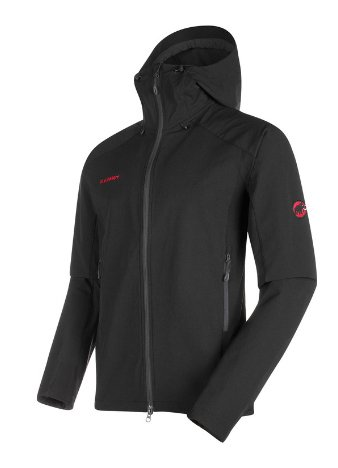 M BASE JUMP SO HOODED JACKET - Veste Softshell MAMMUT