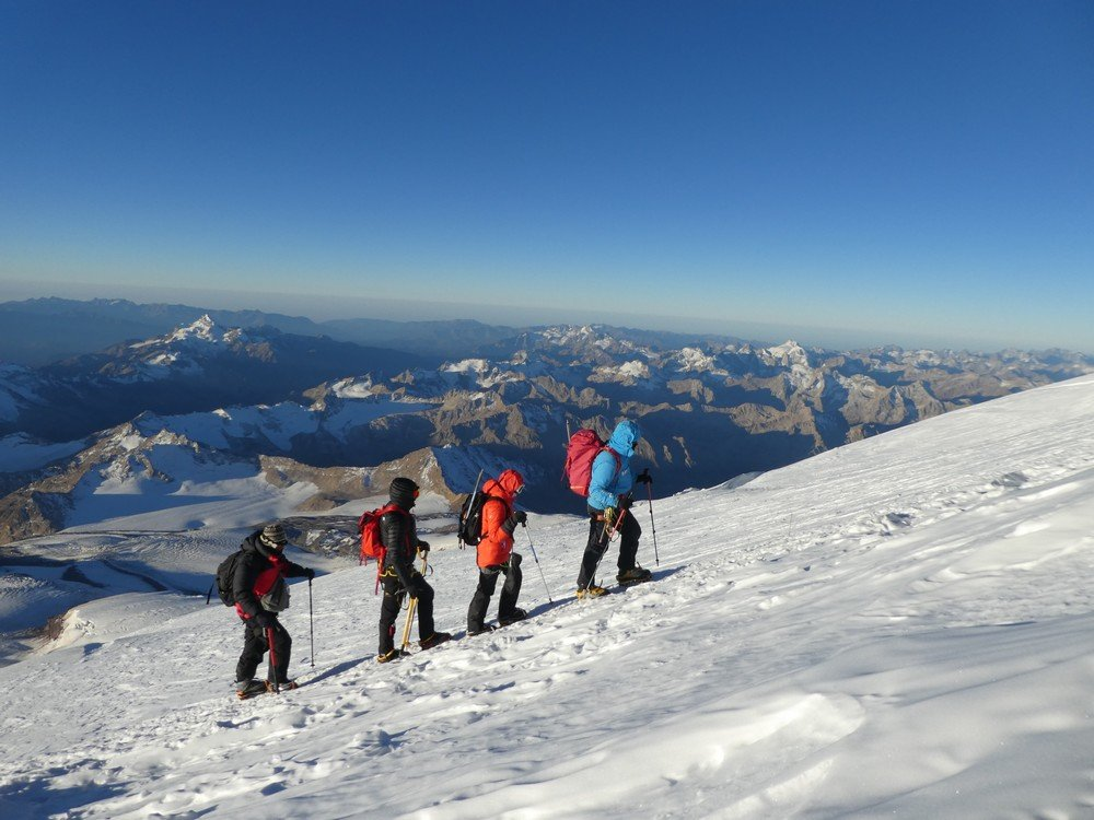 ascension des 5000 m de l'Elbrus