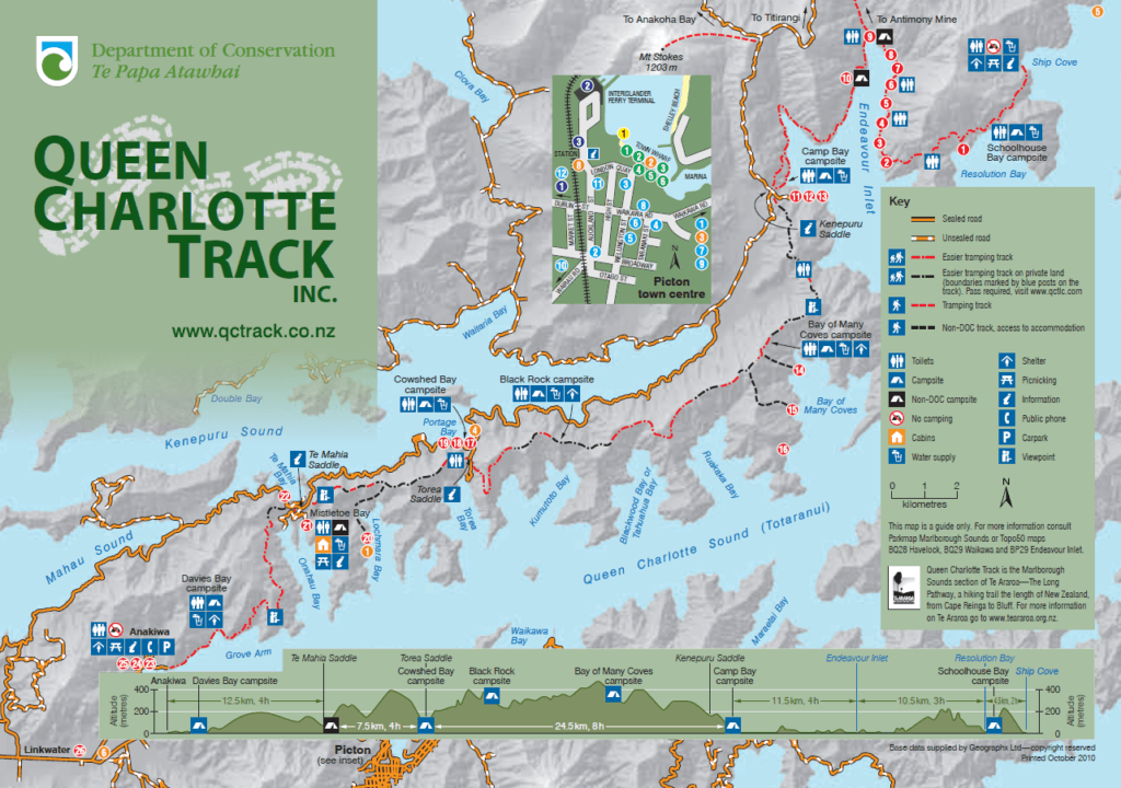 Carte du QCT issue de la brochure officielle du DOC