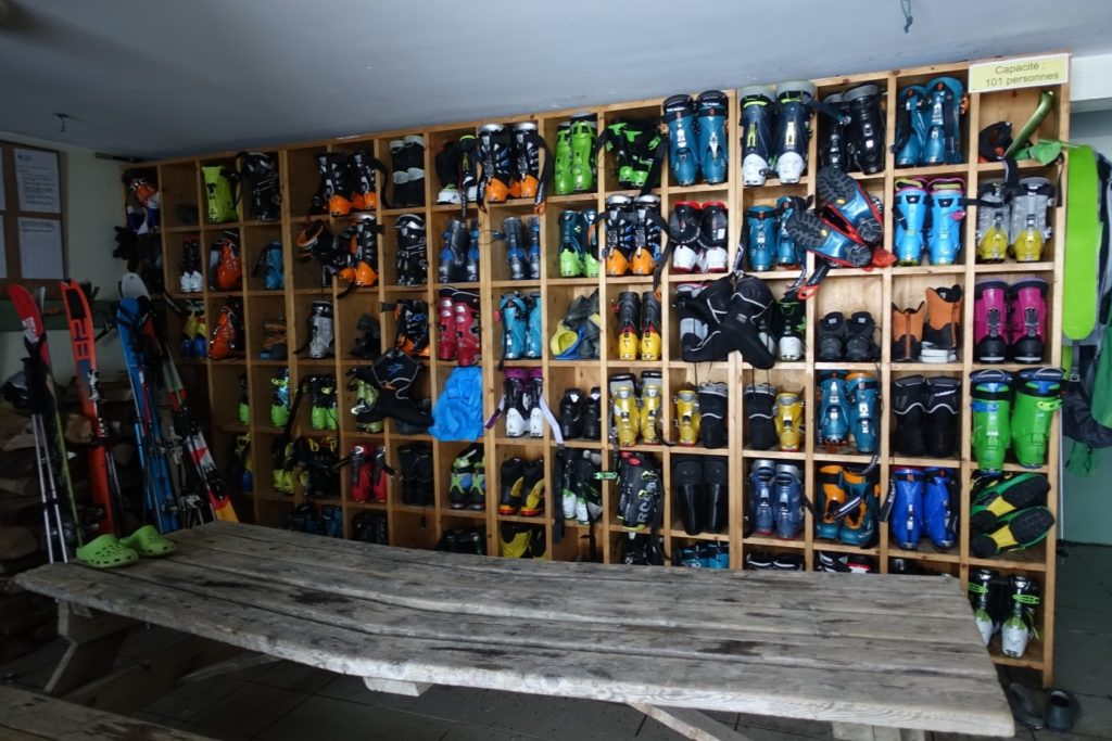 Collection de chaussures de ski