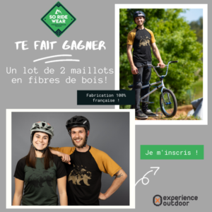 Je m'incris pour gagner 2 maillots So Ride Wear